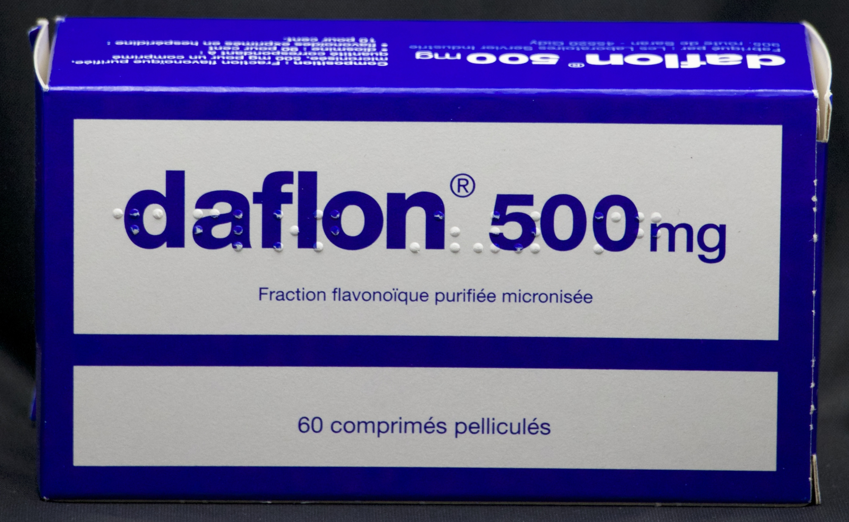DAFLON 60 COMPRESSE RIVESTITE 500 MG