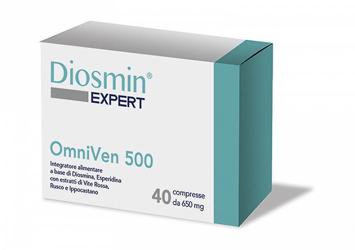DIOSMIN EXPERT OMNIVEN 500 40 COMPRESSE