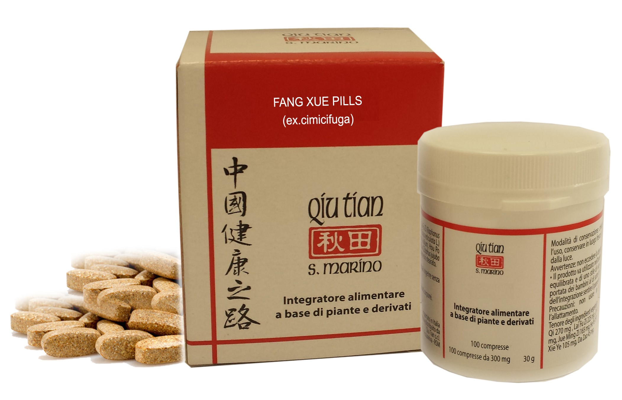 FANG XUE PILLS 100 COMPRESSE