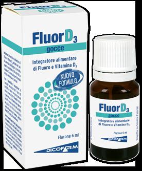 FLUORD3 FLACONE 6ML