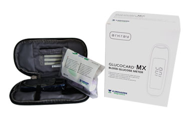 GLUCOCARD MX METER KIT GLUCOM