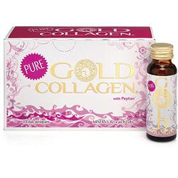 GOLD COLLAGEN PURE LIQUIDO 10 FLACONCINI