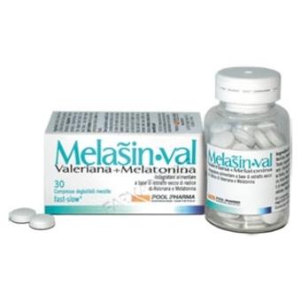 MELASIN VAL 30 COMPRESSE