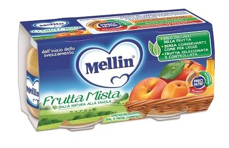 MELLIN OMOGENEIZZATO FRUTTA MISTA 2X100 GRAMMI