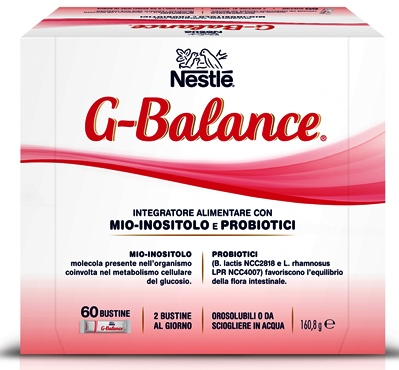 NESTLE G-BALANCE 60 BUSTINE OROSOLUBILI