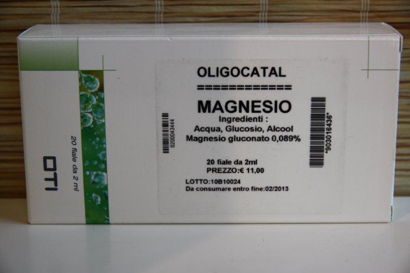 OLIGOCATAL MAGNESIO 20 FIALE