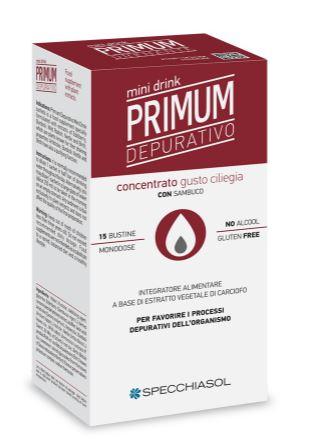Primum Depurativo mini drink 15 buste