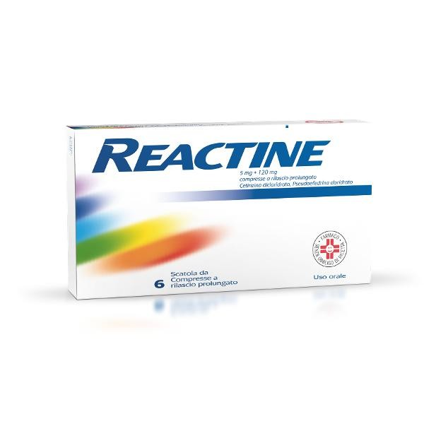 REACTINE 6 compresse