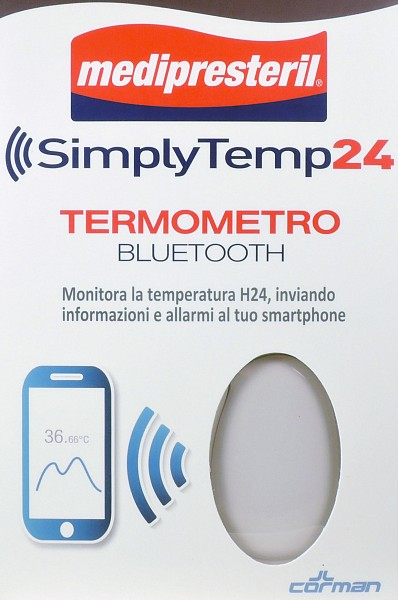 SIMPLY TEMP24 TERMOMETRO BLUETOOTH MEDIPRESTERIL