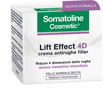 SOMATOLINE LIFT EFFECT 4D CREMA ANTIRUGHE FILLER 50ML