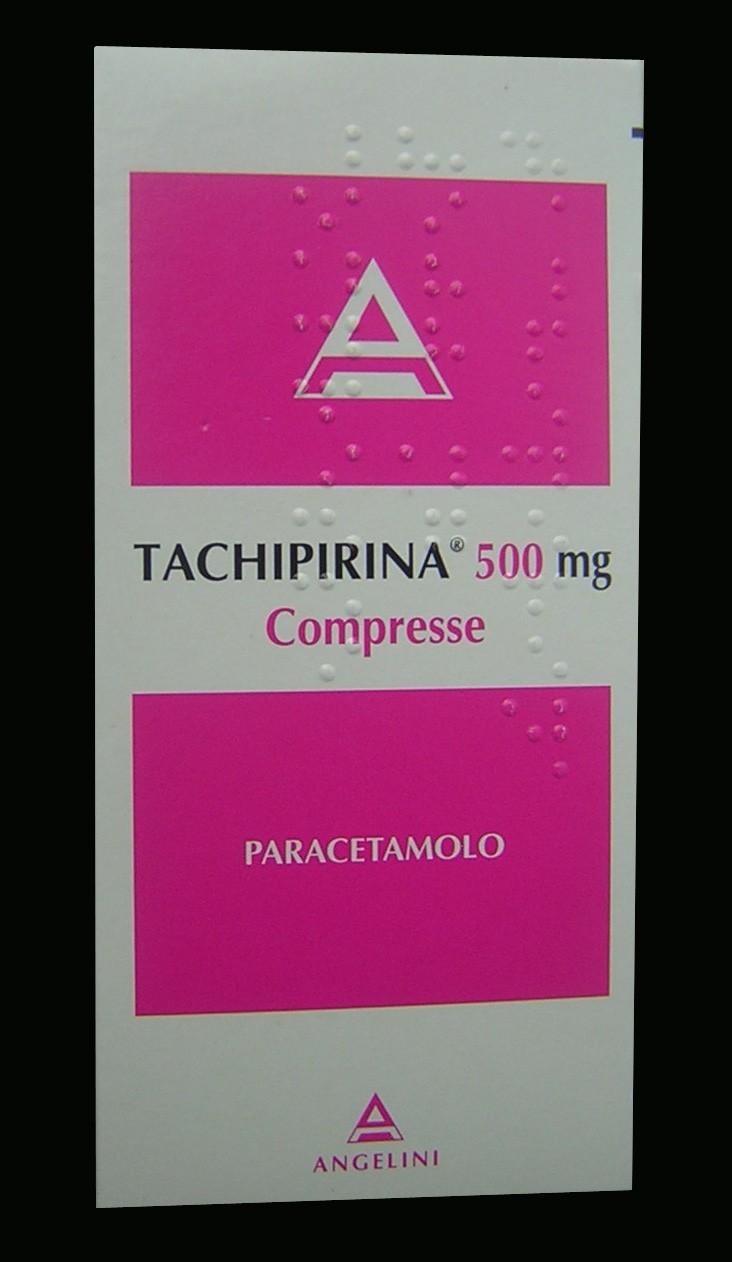 Tachipirina 30 compresse 500 mg a 4 55 for Tachipirina per raffreddore