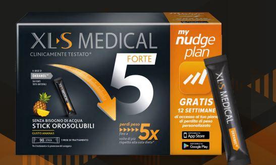 XLS MEDICAL FORTE 5 90 STICK OROSOLUBILI